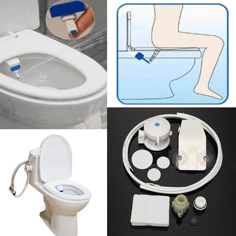 Attachment Non Electric Shattaf Spray Water Wash Clean Seat Smart Toilet Bidet What I Want For Christmas Bathrooms With Images Smart Toilet Bidet Seat Bidet