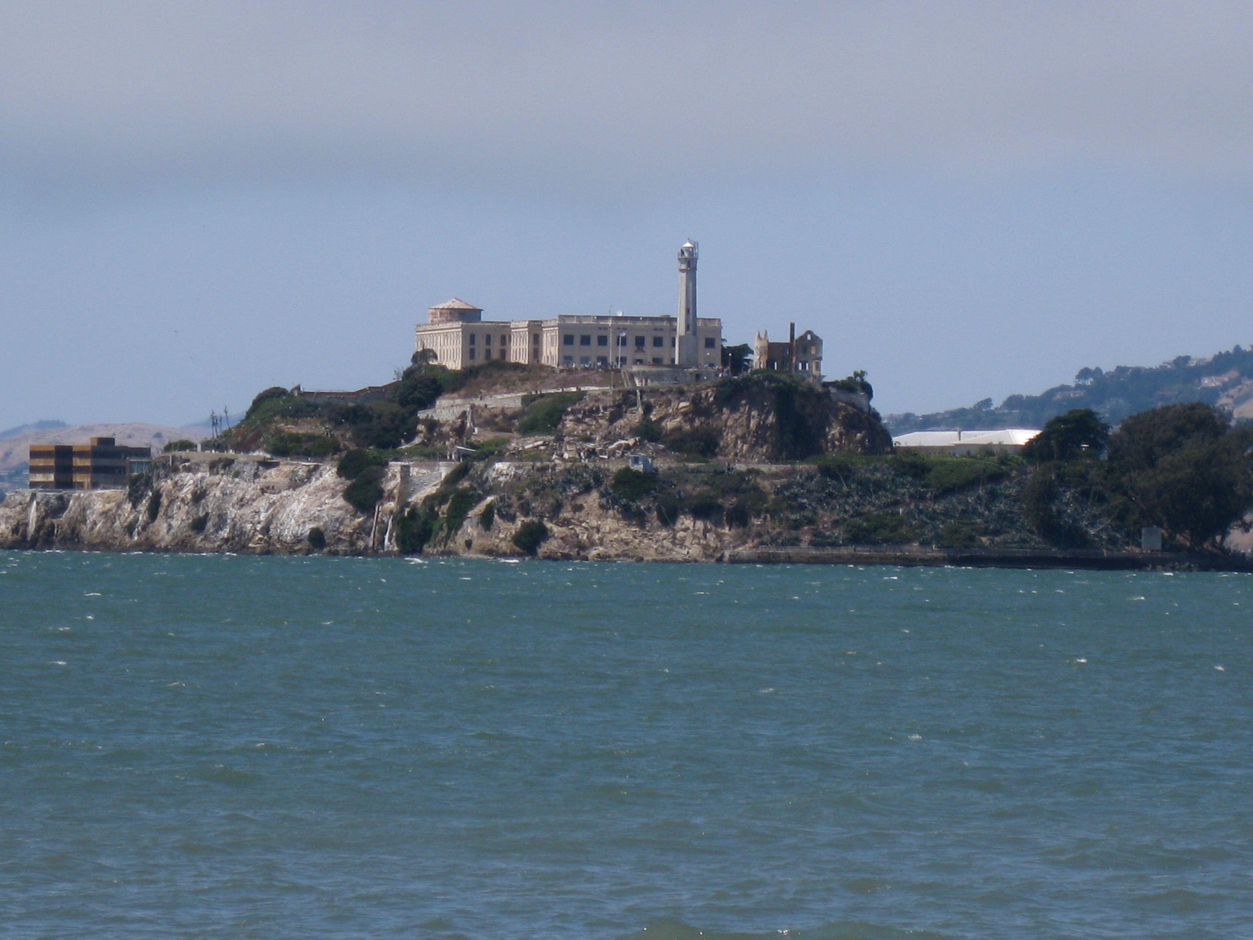 Alcatraz Island San Francisco Bay Ca The Night Tour Was
