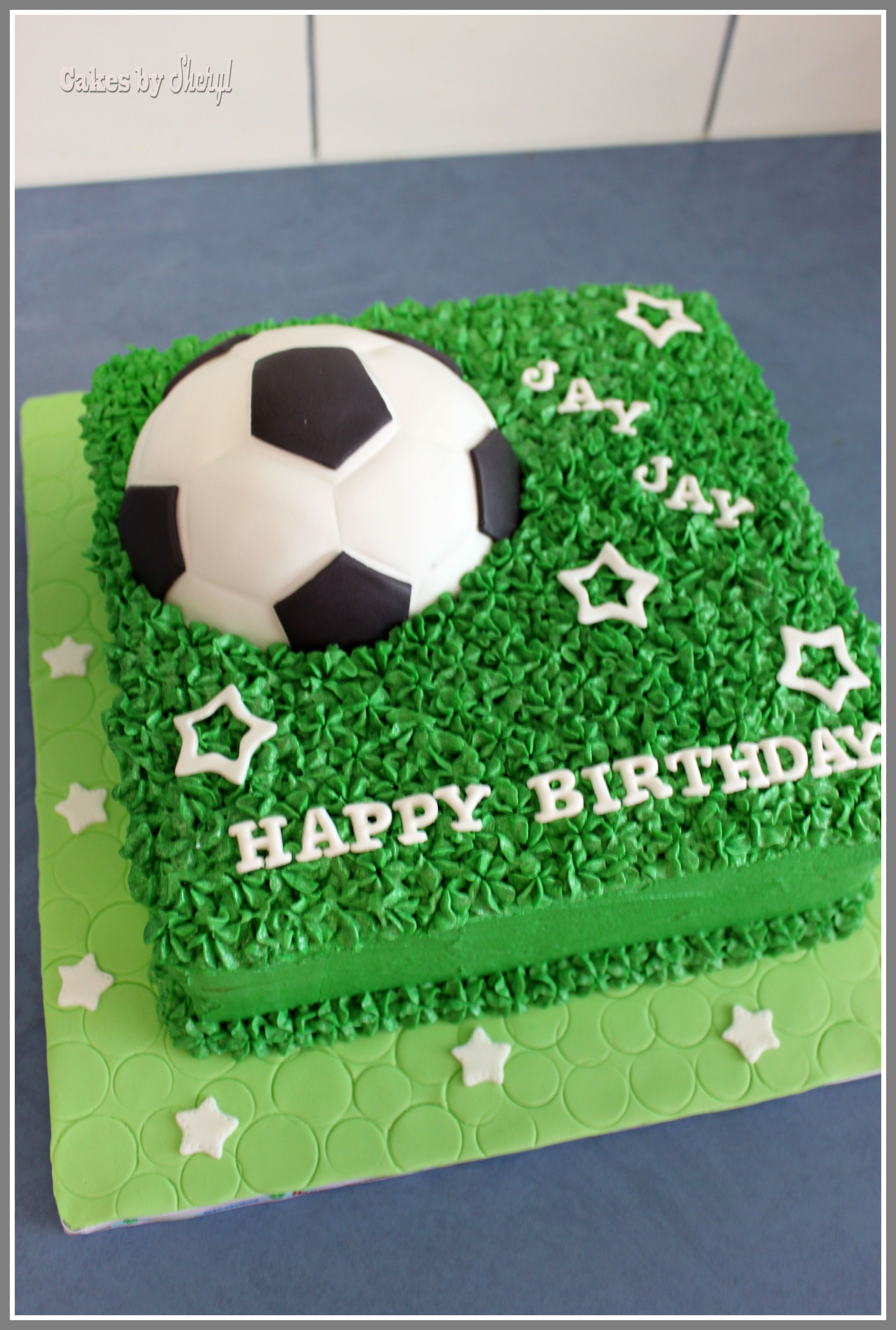Soccer Ball Themed Cake Soccer Birthday Cakes Themed Cakes Soccer Cake