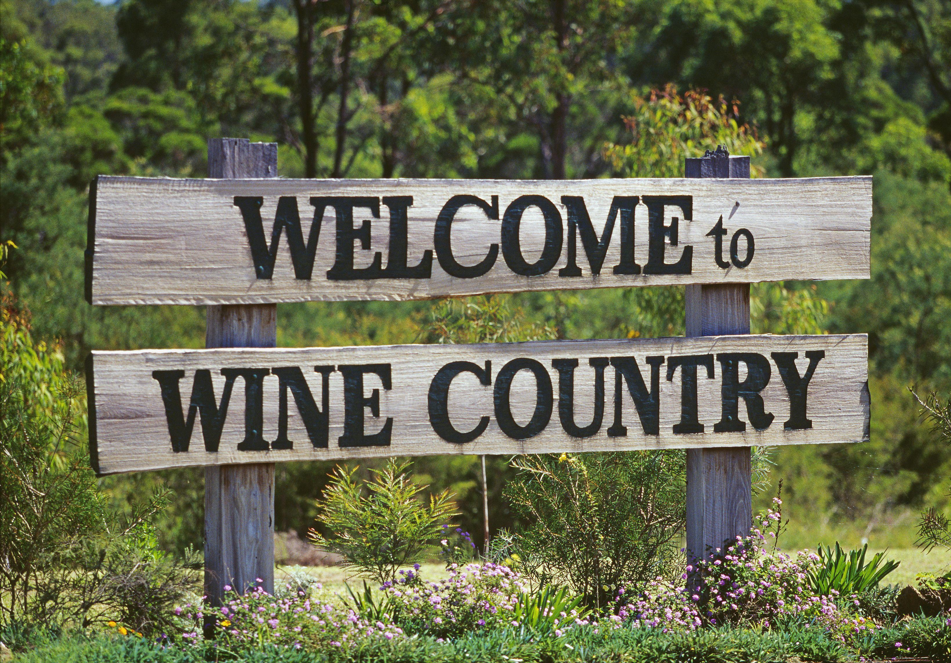 Welcome To Wine Country Photo Tourism Australia Winecountry