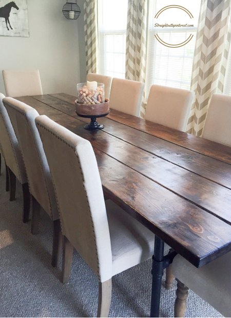 Industrial Farmhouse Table For 12