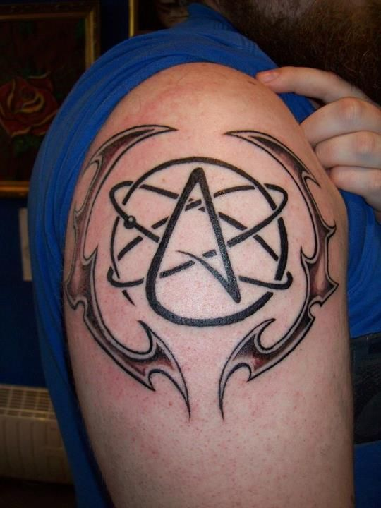 Awesome Atheism Tattoo I Definitely Want Something With The A
