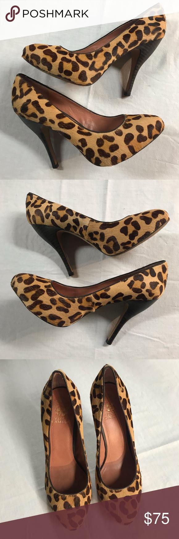 vince camuto leopard pumps