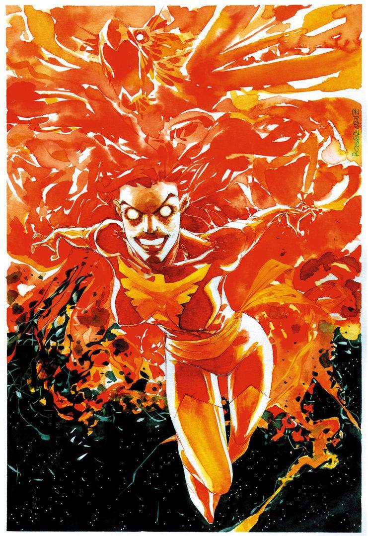 Dark Phoenix1 by rogercruz on DeviantArt