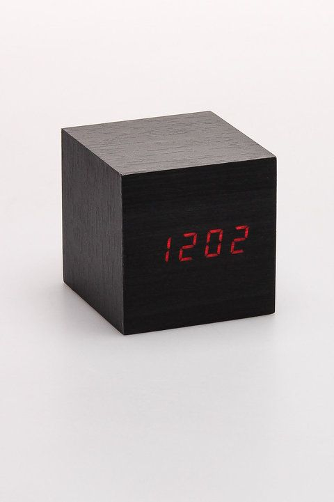 Clap On Cube Alarm Clock   Kikkerland   Home Accents : JackThreads