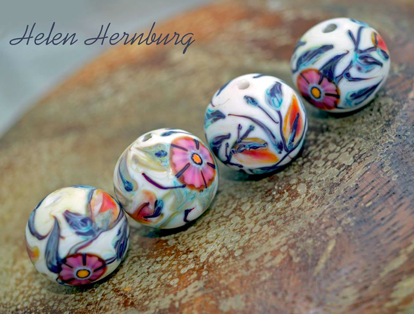 elena hernburg lampwork beads
