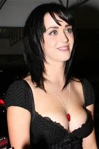 With Katy perry cleavage discussion