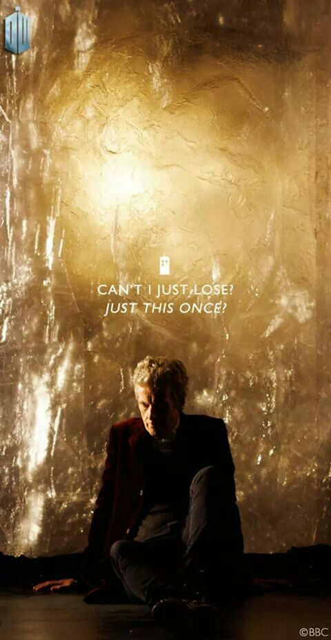 Doctor Who Season 9 Heaven Sent Trying To Break Through
