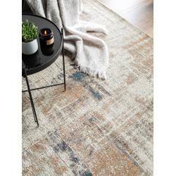 Photo of benuta Trends Flachgewebeteppich Frencie Beige/Blau 200×285 cm – Vintage Teppich im Used-Lookbenuta.