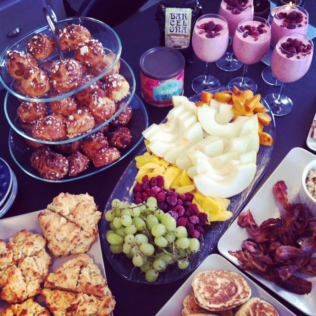 Lovely Breakfast Spread