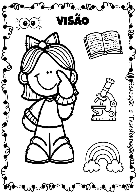 Pin De Kerolaine Pinho Em Educacao Infantil Com Imagens Corpo
