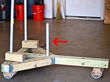 how to make a prowler sled  diy gym equipment diy home