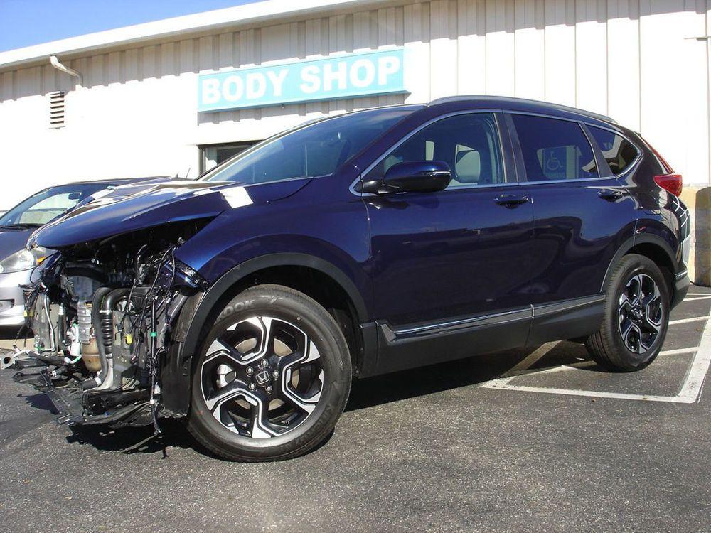 2018 Honda CRV Touring AWD REAR CROSSTRAFFIC & BLIND