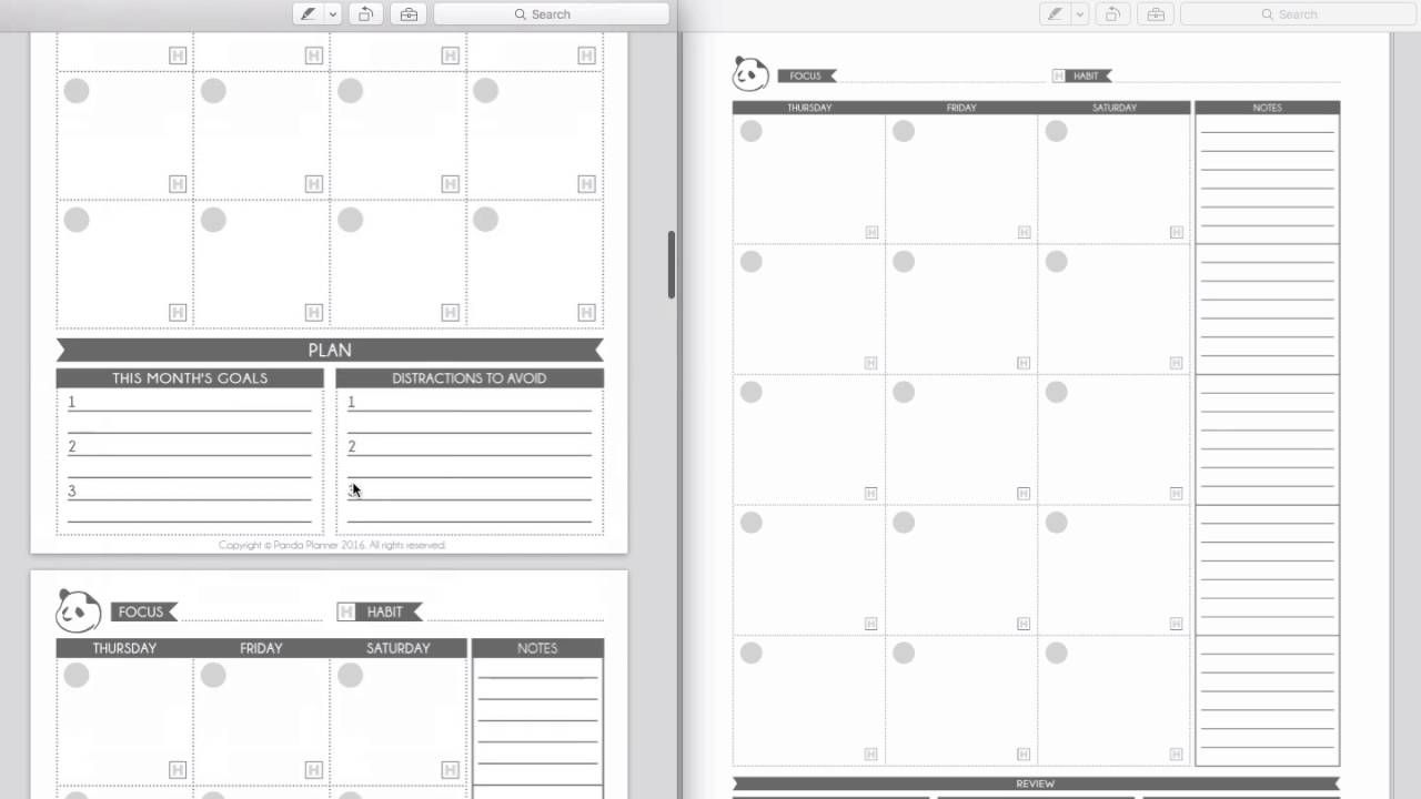 planners monthly