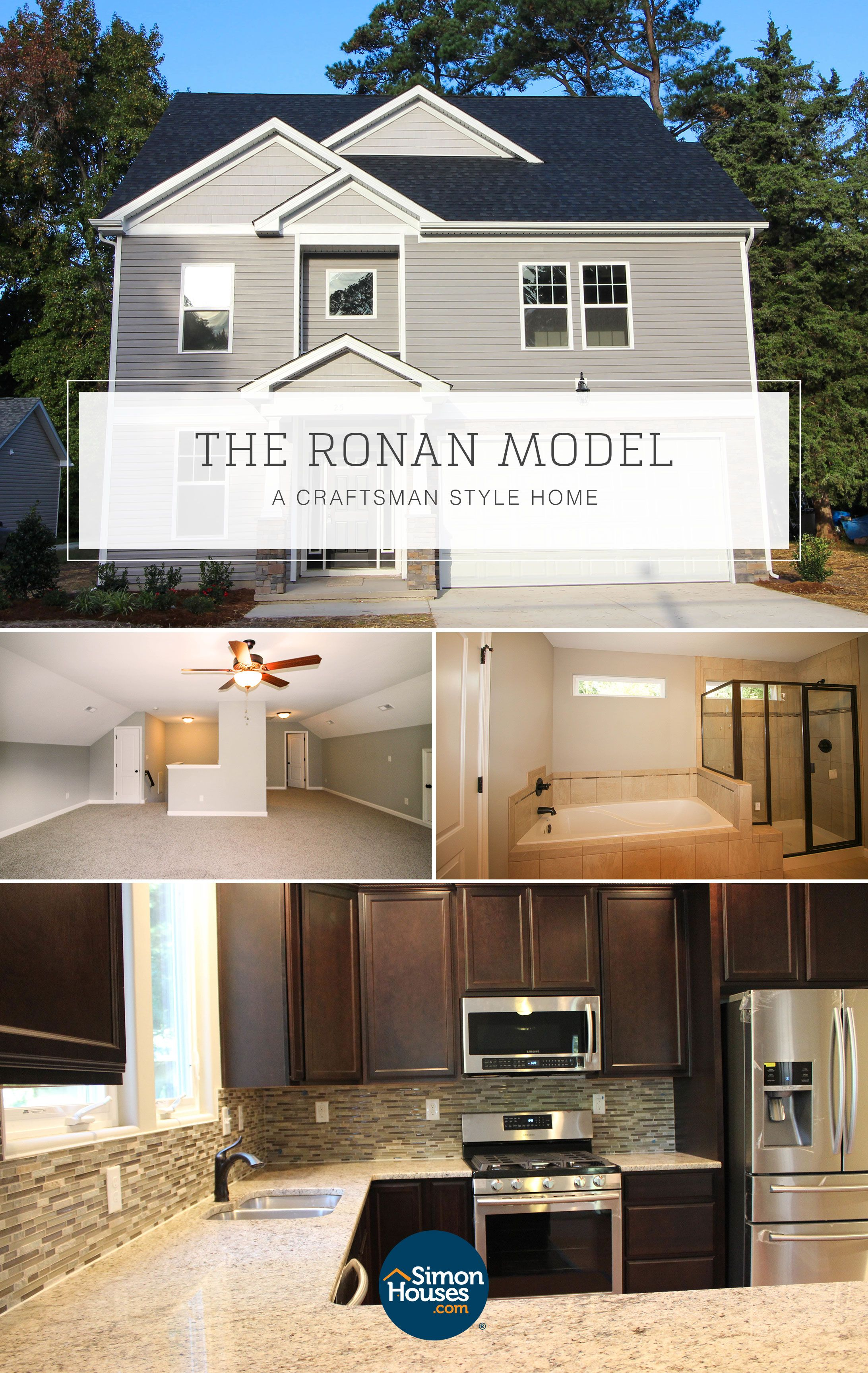Build This Beautiful Home Model In Chesapeake Or Suffolk With An Amazing Local Builder You Can Build On Your Own Custom Built Homes Craftsman Style Home Home