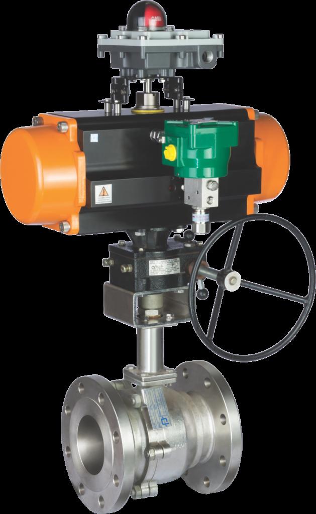 Ball valve Control valves