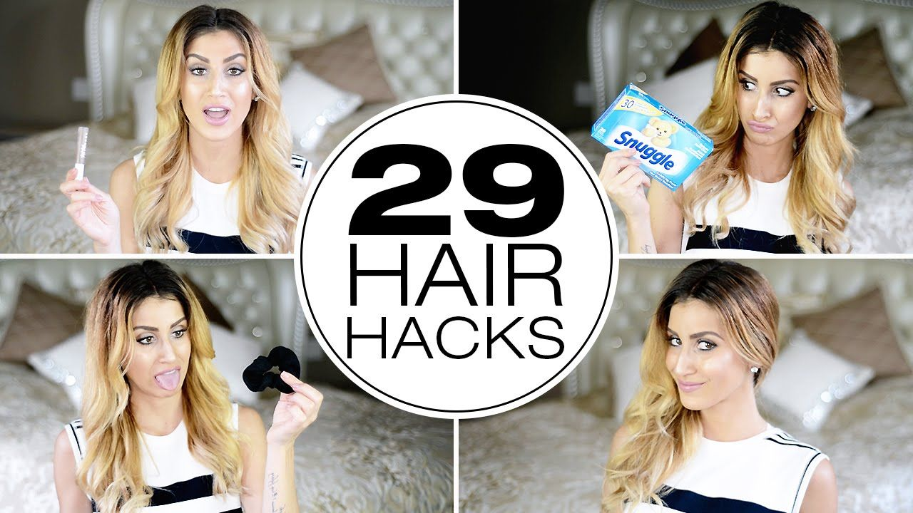 stupidly simple hair hacks every girl needs to know hair today