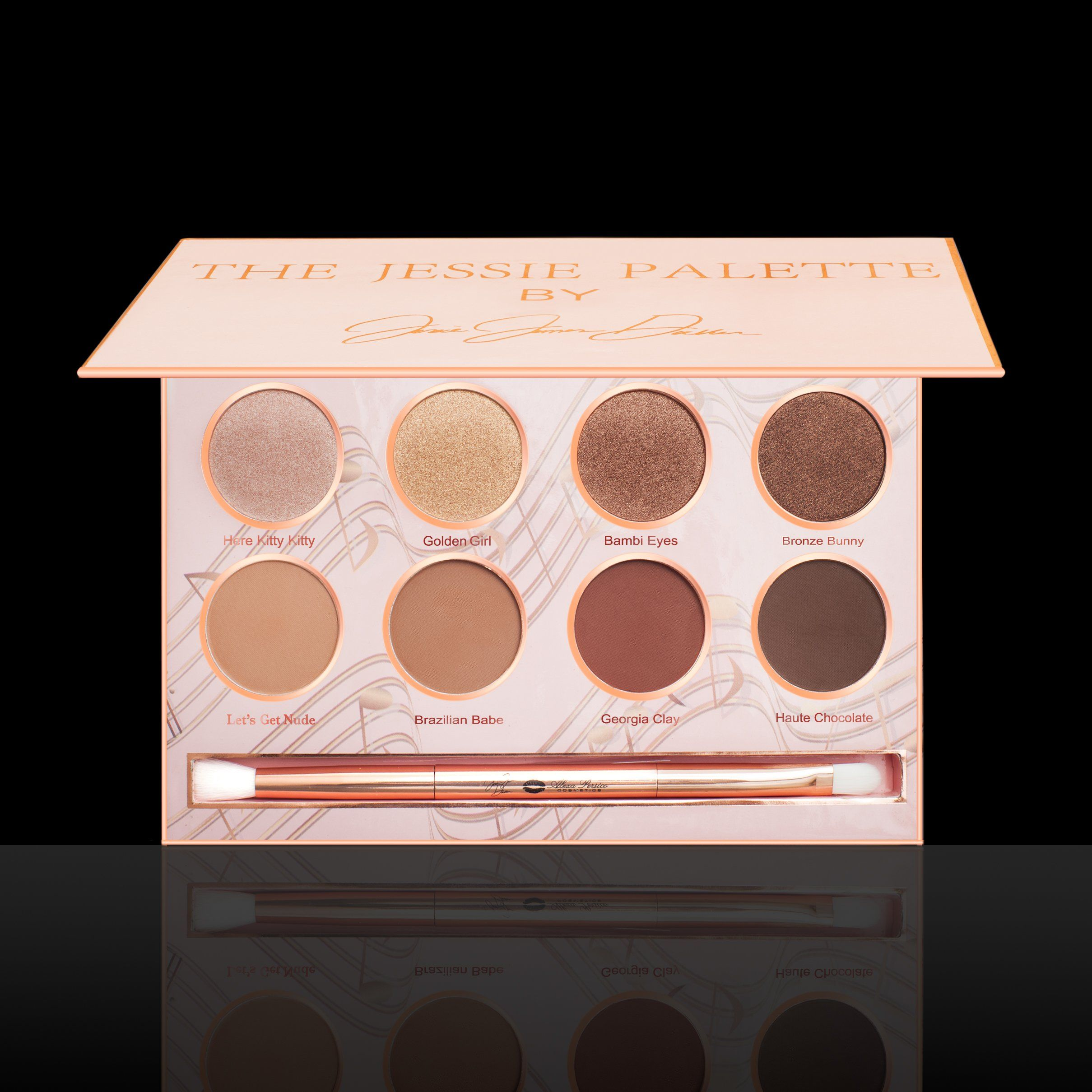 The Jessie Decker Palette Jessie james decker makeup