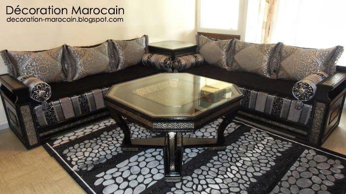 Salon marocain top moderne 2014 | Moroccan living room (salons ...
