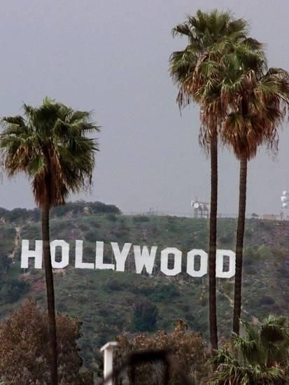 'Hollywood Sign' Photographic Print - Mark J. Terrill | AllPosters.com