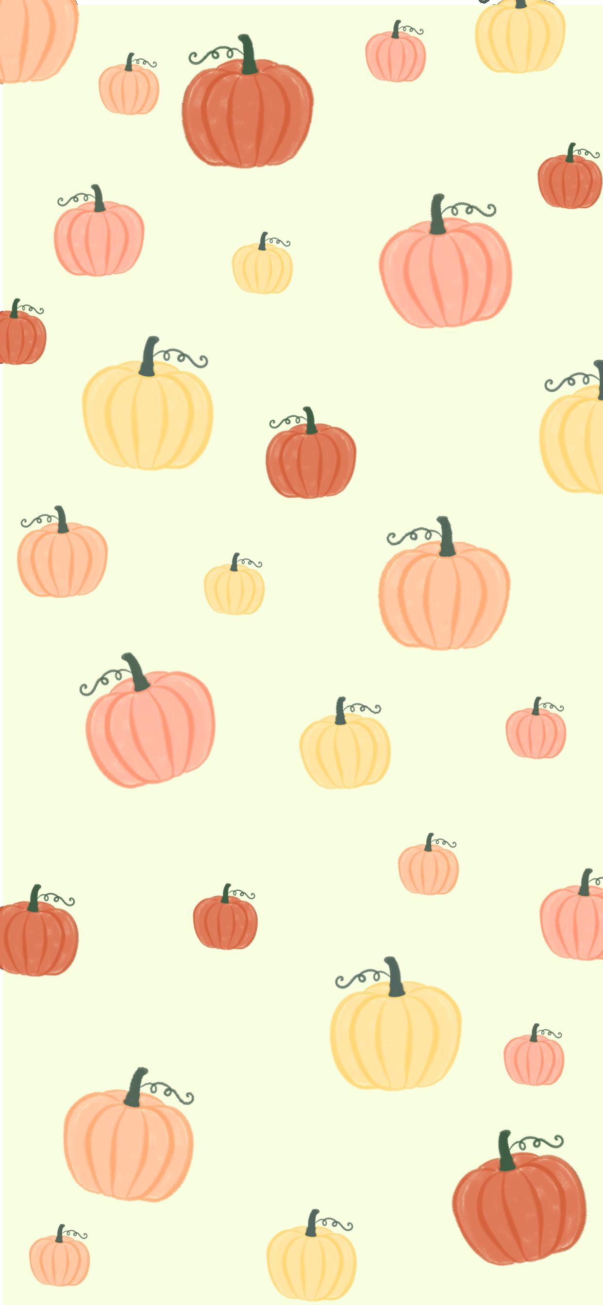 Free Fall Iphone Wallpapers Pumpkins Iphone Wallpaper Fall Watercolor Wallpaper Iphone Cute Fall Wallpaper