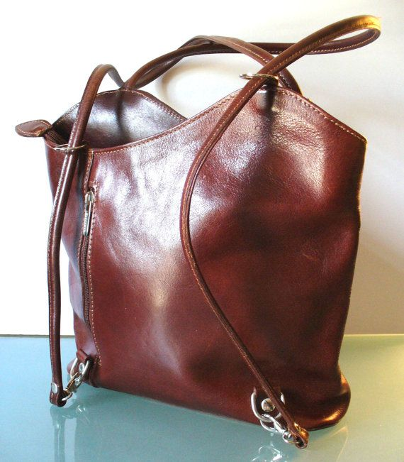 Made in Italy Florence Shoulder / Backpack Style by EurotrashItaly ...