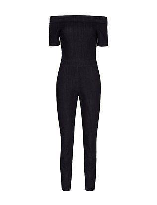 Must-haves I fashion wishlist I Trend I off the shoulder I black jumpsuit I 3x1 alpha denim jumpsuit @monstylepin