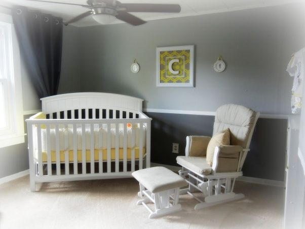 Neutral Nursery I Like The Crib In The Corner Exactly What I