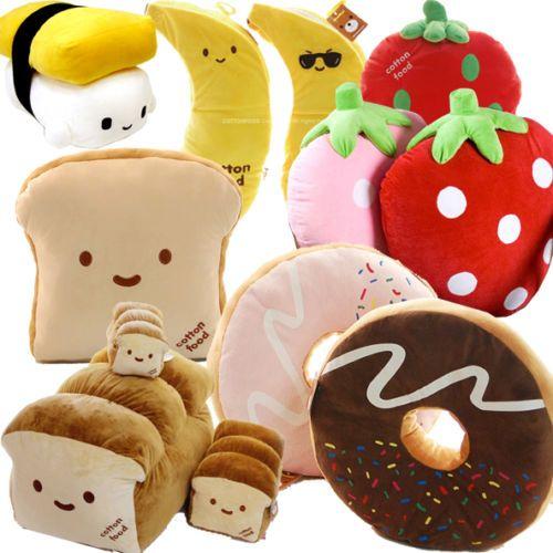 Japan Sushi Pillow Various Food Cushion Toy Plush Doll Free Ship X