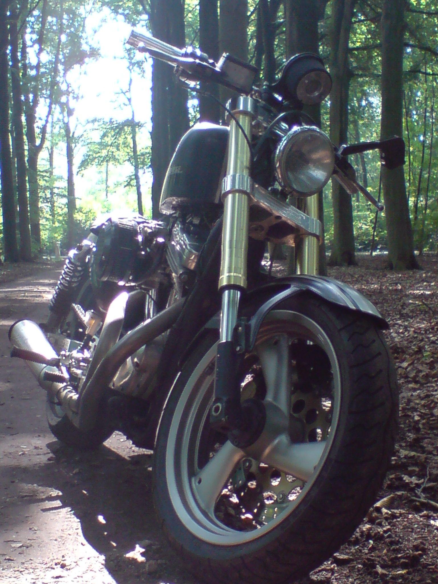 Rebuild A 1986 Harley Davidson Sporster 883 Custom Sportster