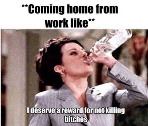 Coming Home From Work Like Funny Quotes Work Humor Work Memes