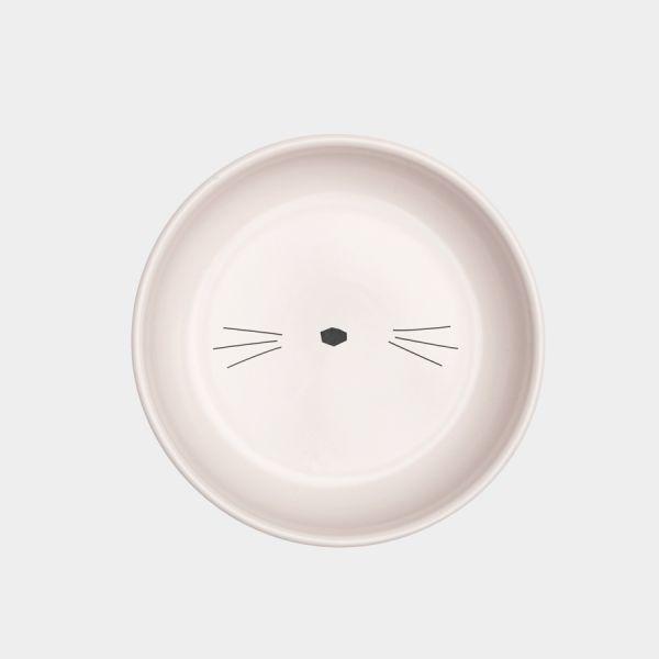 Assiette Creuse En Céramique Avec Sérigraphie Chat Extérieur À