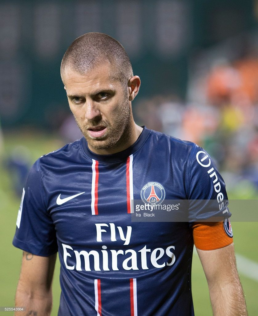907662f2bae Paris Saint Germain Captain Jeremy Menez during the World Football  Challenge match between Paris Saint Germain and DC United. The match ended  with a 1-1 tie ...