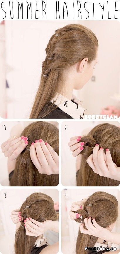 Summer Hairstyle By Bobby Glam Summer Hairstyles Hair