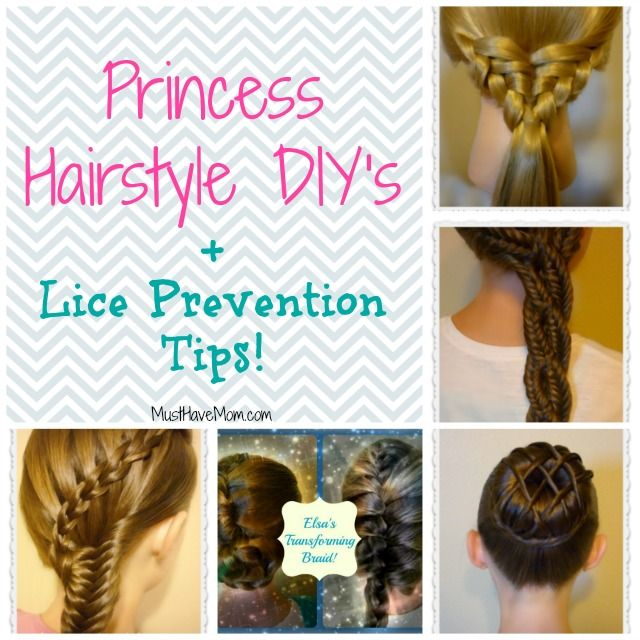 Princess Hairstyle Diy Lice Prevention Tips Lice Prevention Diy Hairstyles Princess Hairstyles