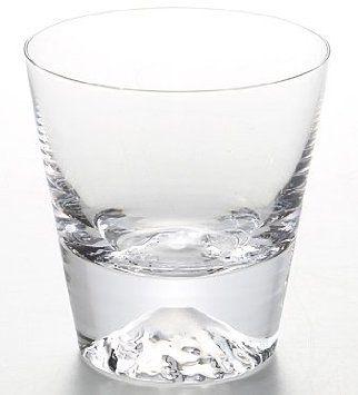 田島硝子 富士山グラス ロックグラス TG15-015-R
