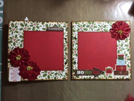 Echo Park The Story of Christmas Mini Chipboard Scrapbook Album