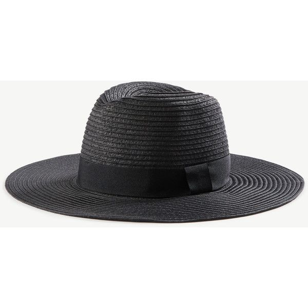 664b88c5bd355 Ann Taylor Summer Straw Hat ( 50) ❤ liked on Polyvore featuring  accessories