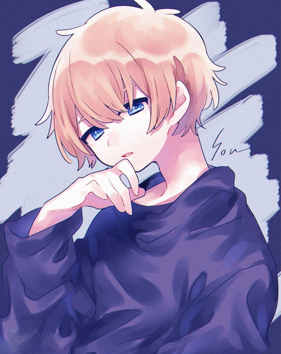 椿つばる On In 2020 Anime Boy Hair Cute Anime Guys Kawaii Anime