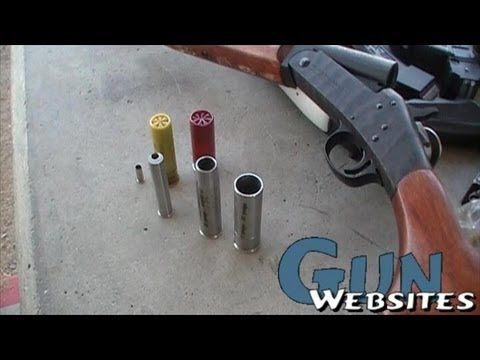 12 gauge to 20g to  410 to  22lr Shotgun Adapters | Guns and