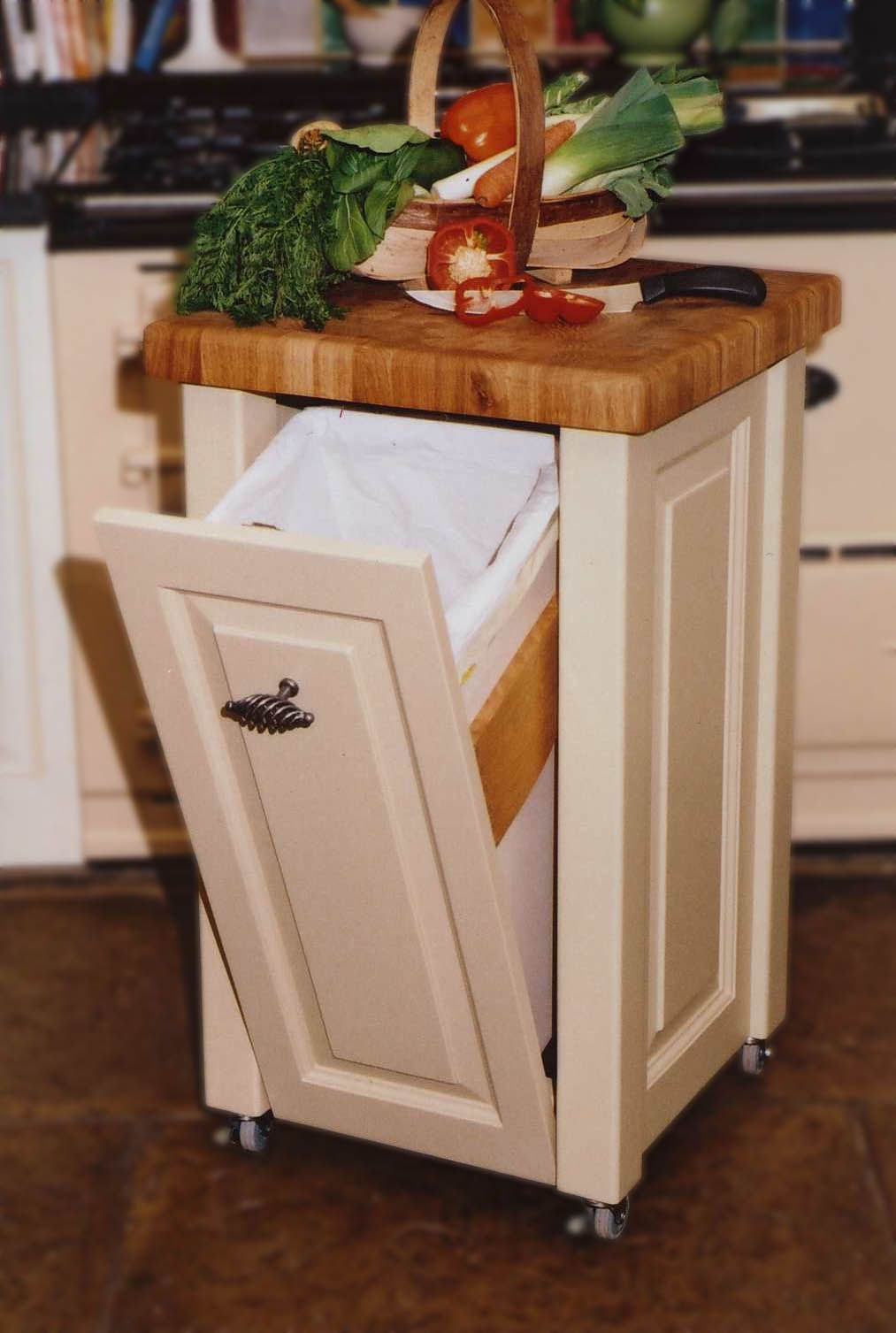 Small Kitchen Trash Cans 19 Unique Kitchen Island Ideas For Every Space And Budget Tables
