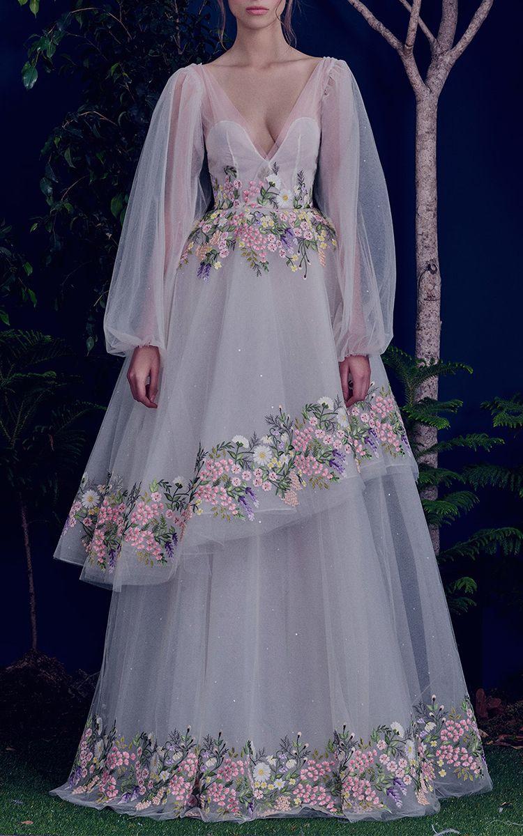 The Goddess Enchanted Gown by HAMDA AL FAHIM Now Available on Moda ...