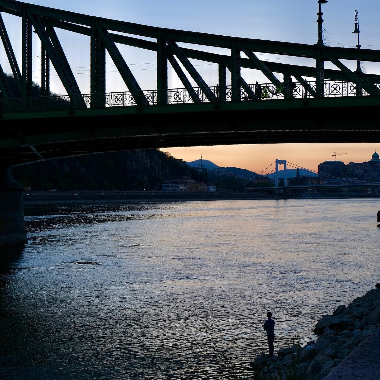 #Lonely #Fisherman by #LibertyBridge #Danube #Budapest #iPhonograpy #cityexploration #cityscape #sunset #travel #explore #discover #NeverStopTravelling #NeverStopExploring #NeverStopDiscovering #beauty #beautiful #Awesome #beautifulPlaces #inspired #beinspired #FidelPix #FidelUK #instasunset #topeuropephoto #Europe #Magyarország #Magyarorszag