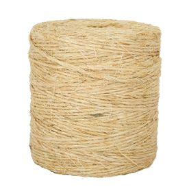 Lehigh 1 8 In X 2250 Ft Twisted Sisal Rope By The Roll 13 38 Sisal Sisal Rope Twine