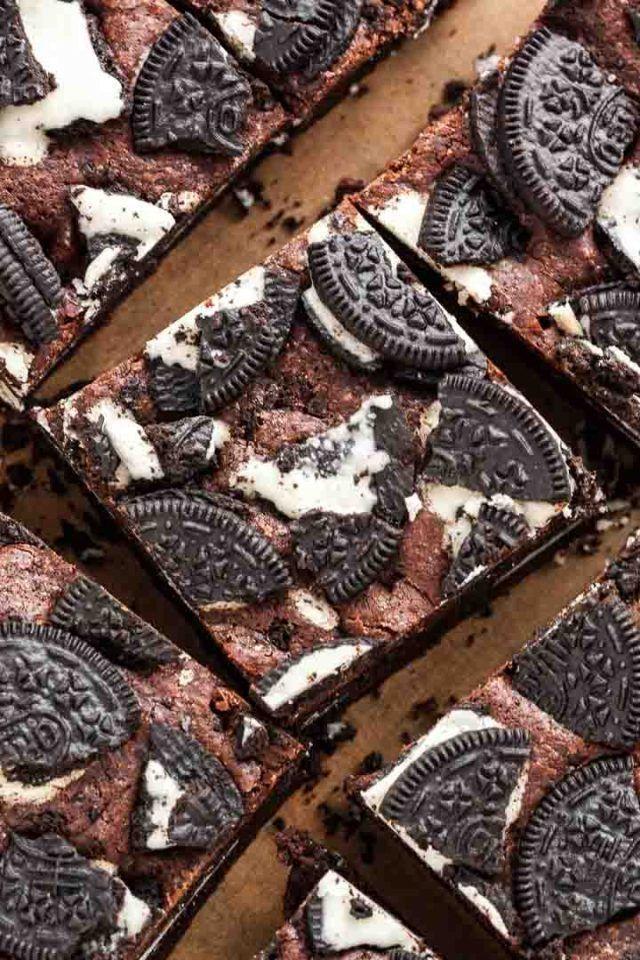 Sweetoothgirl: Oreo Fudge Brownies -