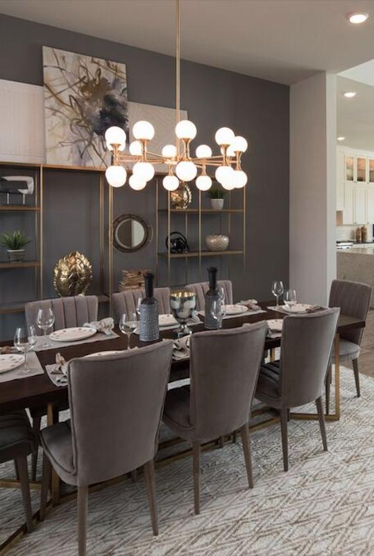 41 Best Modern Dining Room Decoration Ideas Elegant Dining Room