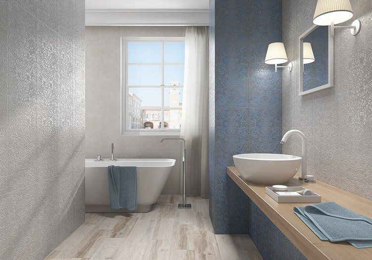 Carrelage sol salle de bain imitation bois en 15 idées top ! House