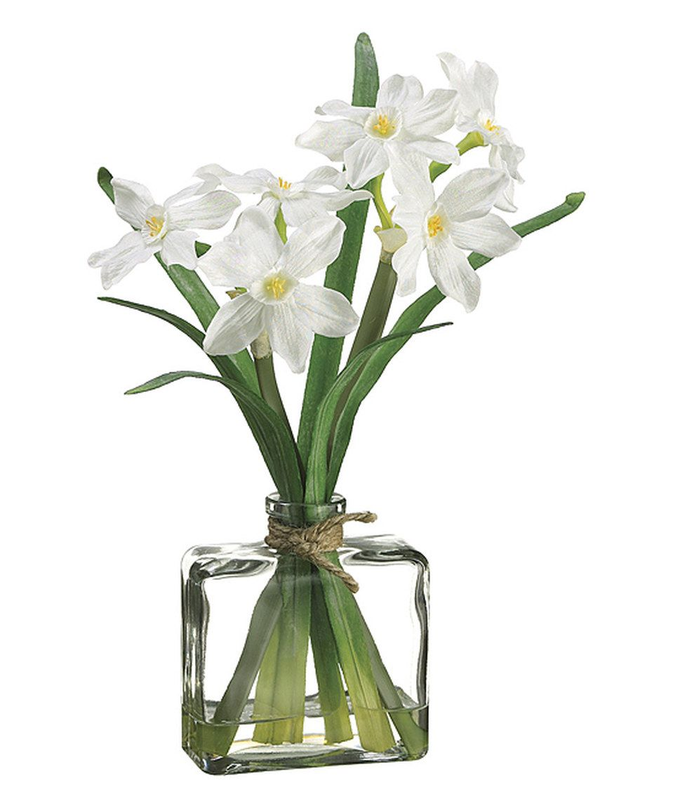 Another Great Find On Zulily Narcissus Glass Vase Arrangement By