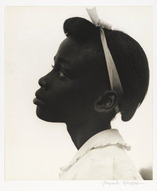'Young Girl in Profile' (From Tennessee Series), 1948 –Photographed by Consuelo Kanaga
