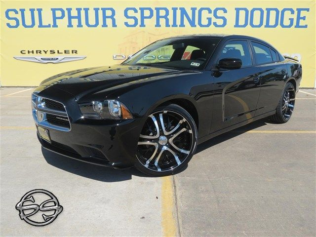 """2013 Dodge Charger SE, 22"""" Incubus 500 Paranormal Black ..."""